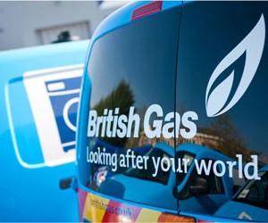 British Gas van
