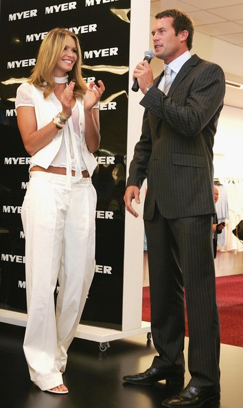 Elle Macpherson and a CEO. I know which one I'd prefer to have as a boardroom colleague