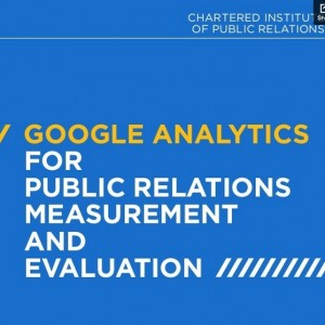 Google Analytics  For PR Measurement and Evaluation